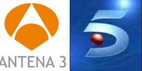 Antena3 y Telecinco reciben 184 millones de publicidad de RTVE