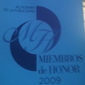 Entrega de premios y distinciones de la Academia de la Publicidad
