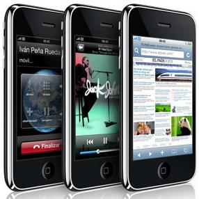 El mercado de móviles táctiles se duplicará en 2010 gracias al iPhone