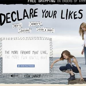 Levi's rediseña su tienda online para el nuevo Facebook