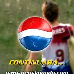 Pepsi responde al patrocinio de Coca-Cola al Mundial