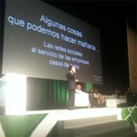 """""""Las redes sociales no son un ente exraño, es el cliente de siempre"""", P. Rosales"""