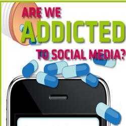 ¿Somos adictos a las redes sociales?