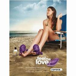 """Crocs proclama el """"amor"""" a sus clientes en su nueva campaña global"""