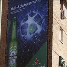 Gallardón retira publicidad de la final de la Champions porque aparece una cerveza