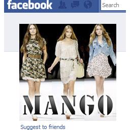 La estrategia en Facebook de Mango vale dos millones de dólares