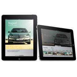 Mercedes-Benz da la bienvenida al iPad con un completo ramillete de aplicaciones