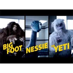 El Yeti, Nessie y Big Foot protagonizan la nueva campaña viral de Microsoft