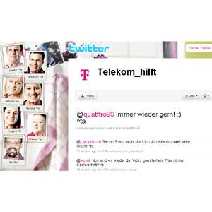 Telekom abre un canal de atención al cliente en Twitter