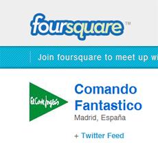 El Corte Inglés, primera marca en España que hace marketing en Foursquare