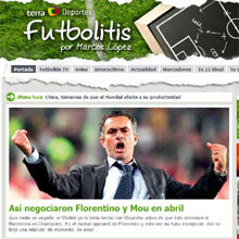 Terra Deportes lanza Futbolitis TV