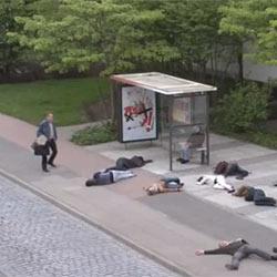 Una dura campaña de Greenpeace contra la energía nuclear sobrecoge a Suiza