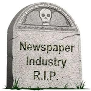 La prensa estadounidense, en horas bajas