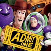 Woody y Buzz Lightyear venden entradas de cine en Facebook