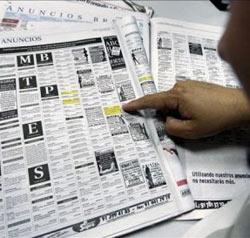 La AUC quiere regular los anuncios de contactos en la prensa