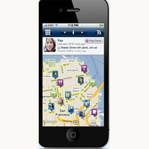 Un geolocalizador de amigos plantea la prescripción en móvil