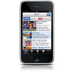 Yoc comercializará la aplicación para el iPhone de Eurosport