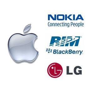 Nokia, RIM y LG, víctimas colaterales del éxito de Apple