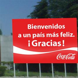 Coca-Cola recibe a