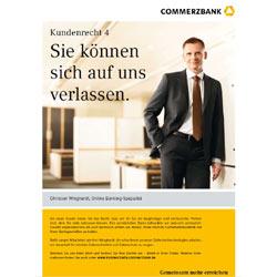 El banco alemán Commerzbank obsequia a sus clientes con una carta de derechos