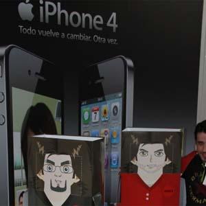 La agencia Tango aprovecha el lanzamiento del iPhone 4G para hacer publicidad