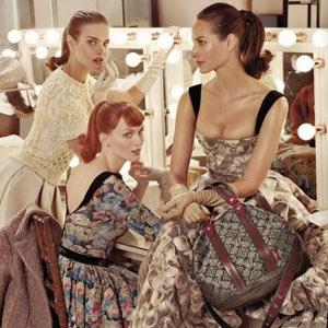 Louis Vuitton viaja a los años 50 en su nueva campaña para la temporada otoño-invierno