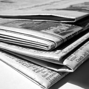 La supervivencia de la prensa escrita, en peligro