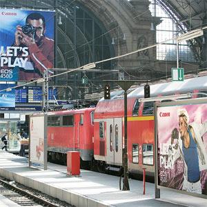 ¿Es efectiva la publicidad exterior en estaciones de tren?