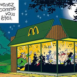 Un anuncio de McDonalds que usa a Astérix molesta a los franceses