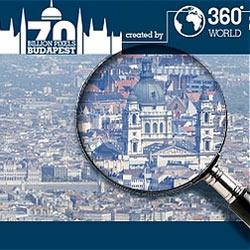 La fotografía más grande del mundo es de Budapest y pesa 70 gigapíxeles