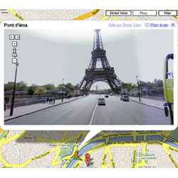 Registrado un coche de Street View en Francia