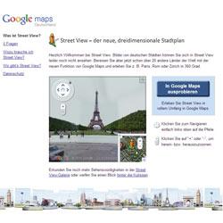 Google rectifica tras el aluvión de críticas contra Street View en Alemania