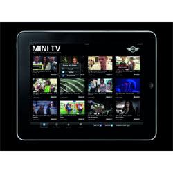 Los coches Mini circulan ahora también en el iPad