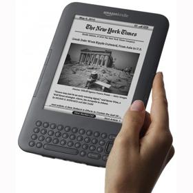 El Kindle 3 de Amazon se agota en 5 días