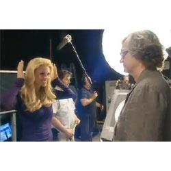 El cineasta alemán Wim Wenders filma un spot televisivo para L'Oréal