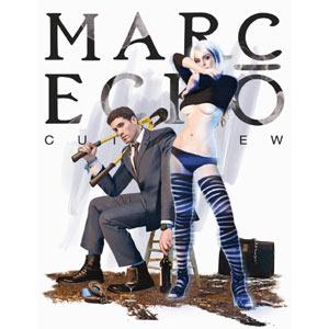 Lindsay Lohan posa semidesnuda para la firma de moda Marc Ecko