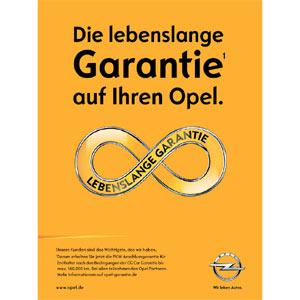 Opel no se retracta y continuará con la campaña en la que promete una garantía de por vida a sus clientes