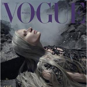 Vogue ataca a BP en la portada con una modelo canosa