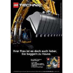 Lego lanza una campaña publicitaria para