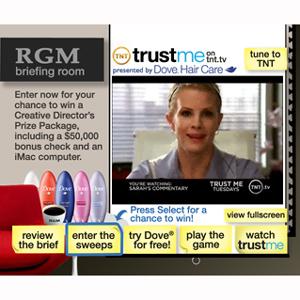 Los anuncios interactivos en televisión se adentran en el prime-time