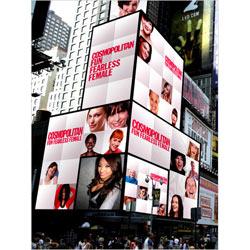 """Las lectoras de """"Cosmopolitan"""" dan la cara en una campaña de publicidad exterior interactiva"""