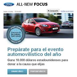 Ford busca conductores que quieran probar el nuevo Focus en Facebook
