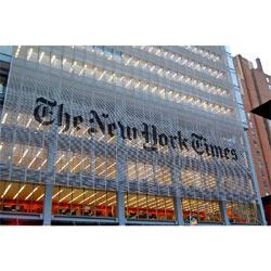 New York Times Company registró pérdidas de 4,3 millones de dólares durante el último trimestre