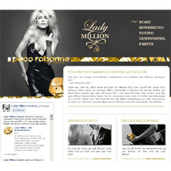 Paco Rabanne busca a Lady Million en la red