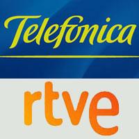 Telefónica pagará 5 millones anuales a RTVE para producir contenidos televisivos