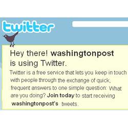 """""""The Washington Post"""" prohíbe a sus redactores debatir con los lectores en Twitter"""