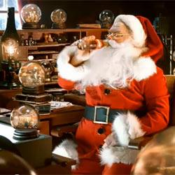 Coca-Cola saca a Papá Noel de su retiro en el Polo Norte