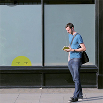La visión de un futuro en donde hasta las paredes son medios interactivos personalizados