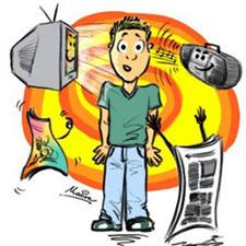 Los medios de comunicación disminuyen su inversión publicitaria en un 31,4%