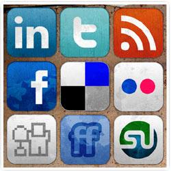 Los medios son más activos que las marcas en las redes sociales